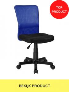 bureaustoel blauw