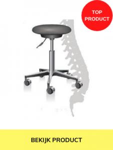 ergonomische bureaustoel zonder rugleuning